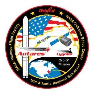 G110228-002 Antares-ORB-D1 Mission Patch